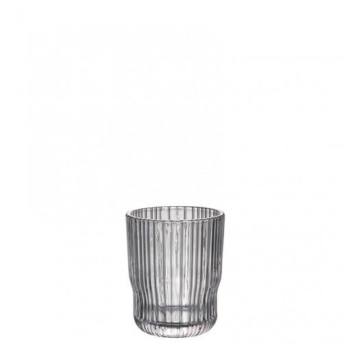 Glas rauch h 9,6 cm
