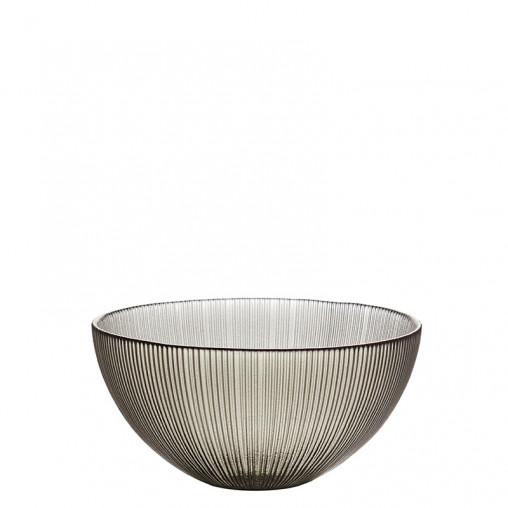 Glas Schale rauch h 7,5 cm
