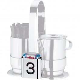 Zahnstocher- und Süßstoffbehälter Pure