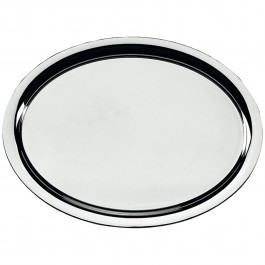 Tablett, oval Neutral