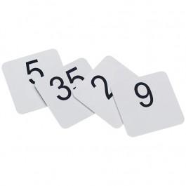 Plastik-Tischnummer