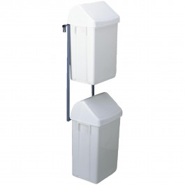 Abfallbehälter-Einheit (2 St. inkl. Halterung) für kleine Wagen Standard