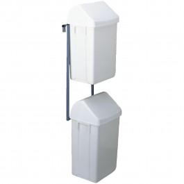 Abfallbehälter-Einheit (2 St. inkl. Halterung) für große Wagen Standard