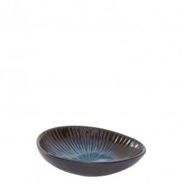 Dip Schale oval DEEP OCEAN blau 12x8,7 cm