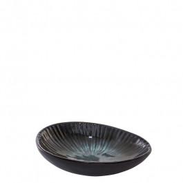 Dip Schale oval DEEP OCEAN grün 12x8,7 cm