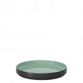Teller flach GEO grün Ø 14 cm