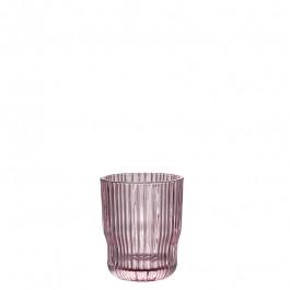 Glas rose h 9,6 cm