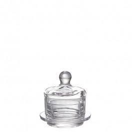 Dessert und Butter Cloche Glas h 9,8 cm