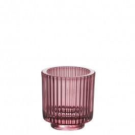 Glas rose h 8,5 cm