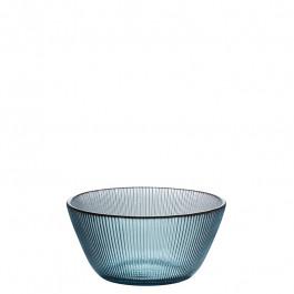 Glas Schale blaugrün h 5 cm