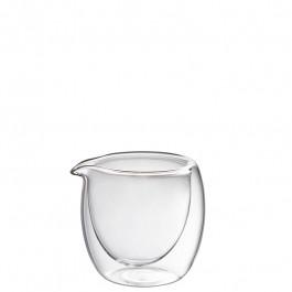 Glas Sauciere doppelwandig Ø7,4x8,3 cm