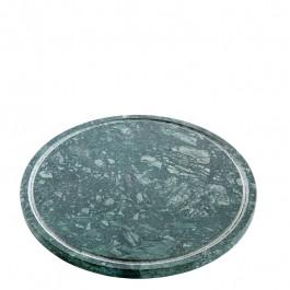 Platte M Marmor grün Ø23 cm