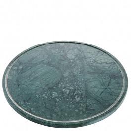 Platte L Marmor grün Ø32 cm
