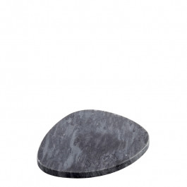Platte Marmor schwarz 13x11 cm