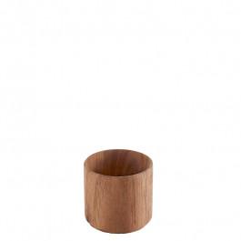 Schälchen Holz (Walnuss) Ø4,5 cm