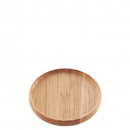 Tablett Holz (Esche) rund 16 cm