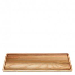 Brotschneidebrett Holz (Esche) rechteckig 38x15 cm