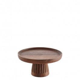Gebäckständer Holz (Walnuss) Ø20 cm