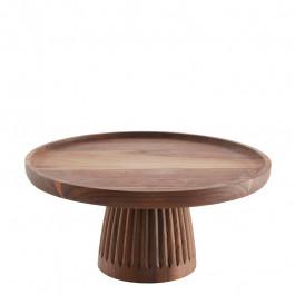 Gebäckständer Holz (Walnuss) Ø30 cm