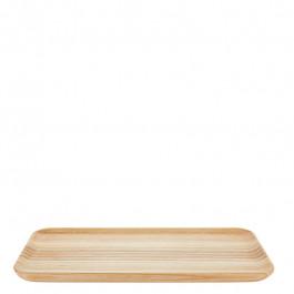 Tablett Holz (Esche) rechteckig 27x13 cm