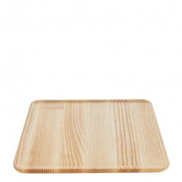 Tablett Holz (Esche) quadratisch 27x27 cm