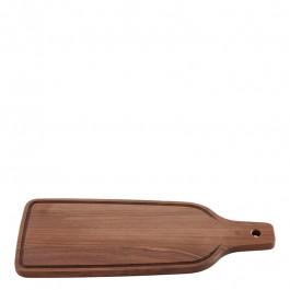Servierbrett Holz (Waluss) rechteckig 40x16 cm