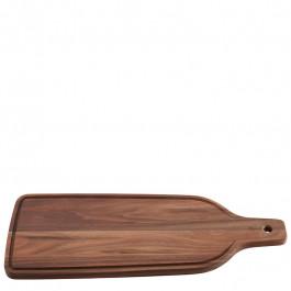 Servierbrett Holz (Waluss) rechteckig 45x18 cm