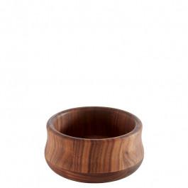 Schüssel XS Holz (Walnuss) Ø13x6,5 cm