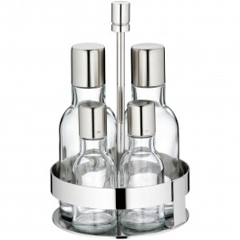 Oil and vinegar set, 4 pcs. Pure