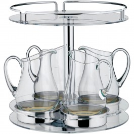 Juice bar, with glass holder Neutral