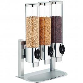 Cereal dispenser, in-line Manhattan