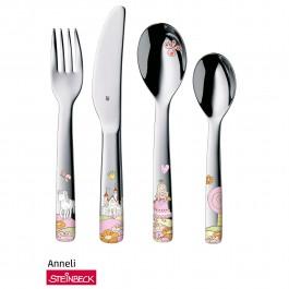 Child's cutlery set 4-pcs. Prinzessin Anneli