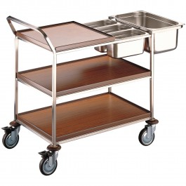 Clearing trolley (without inserts) Standard