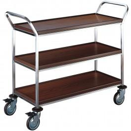 3 shelves, narrow model Standard