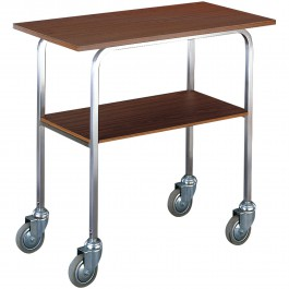 Iron rack with anthracite finish without wheels, without middle shelf Standard