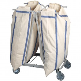For 2 laundy bags Standard