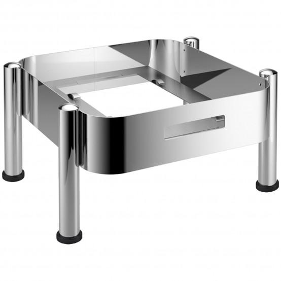 frame basic gn 2 3 hot fresh chafing dish induction. Black Bedroom Furniture Sets. Home Design Ideas