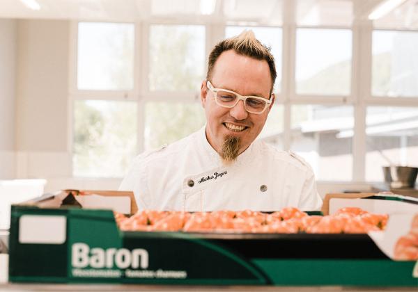 Schnell und einfach: WMF-Koch Markus Jüngert hat ein wunderbares Rezept